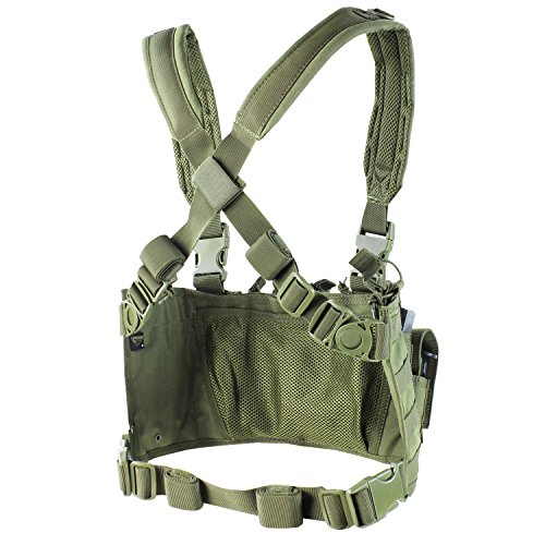 "Condor Recon Chest Rig Coyote, Brown, 30"" - 60"""