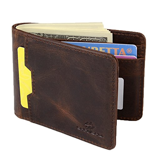 Bifold Wallet SHANSHUI Blocking Leather product image