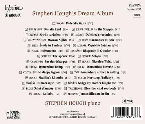 Stephen Hough's Dream Album by Hyperion Uk (Image #1)