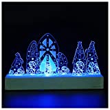 Giftgarden LED Nativity Set Christmas Decoration Holy Family for Christian Catholic Gifts