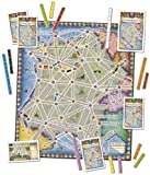 Ticket to Ride: France and Old West Map