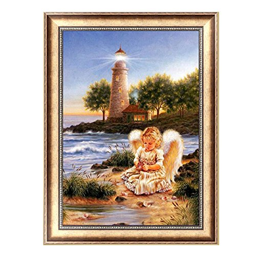Techinal Lovely Angel Embroidery 5D Diamond Painting DIY Craft
