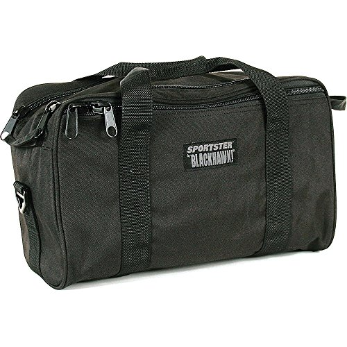 BlackHawk Pistol Range Bag SPORTSTER Bag Black Nylon 74RB02BK ()