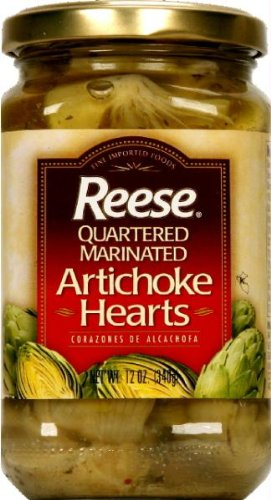 Reese Artichoke Hearts Marinated, 12 oz (cr) by Reese (Image #1)