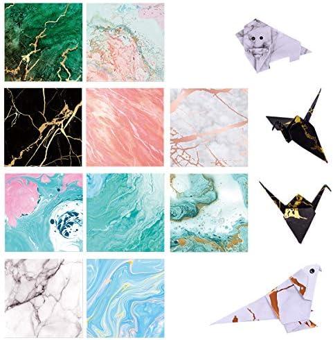 Amazon.com: Paperkiddo 100 hojas de papel de origami para ...
