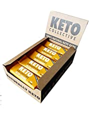 Keto Collective Wholefood Keto Repen I 15x40 g I Salted Caramel I 2,8 g Netto Koolhydraten I LOW CARB I Vezelrijk I Natuurlijke ingredi'nten I Bron van prote•ne I Glutenvrij I Veganistisch