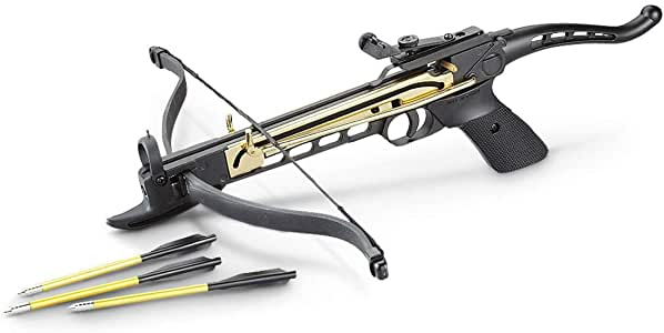 Snake Eye Tactical Cobra System Self Cocking Pistol Tactical Crossbow, 80-Pound