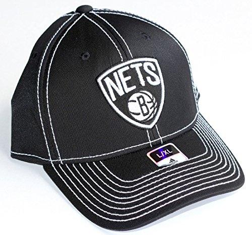 adidas NBA Brooklyn Nets Hat - L/XL