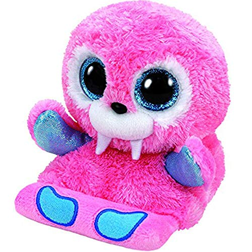 Stuffed & Plush Animals - Ty Peek A Boo Phone Holder With Screen Cleaner Bottom Sailor The Walrus Plush Soft Stuffed Animal - Backpack Holder Sloth Ellie Cube Dogs Panda Sketch Koala White S from Unknown