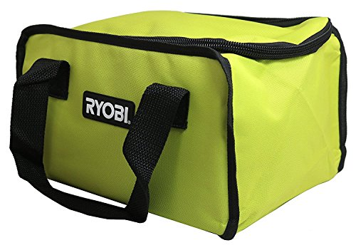 Ryobi 903209066 / 902164002 Soft-Sided Power Tool Bag with Cross X Stitching and Zippered Top (Fits CSB143LZK Circular Saw) by Ryobi