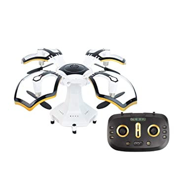 Creine RC Drone Plegable con una tecla Volver Modo sin Cabeza ...