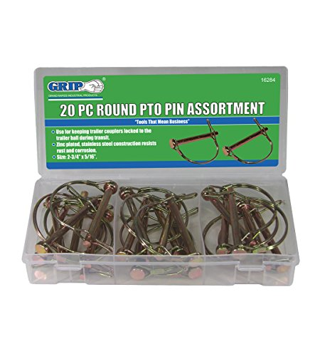 Grip Lynch Pin Assortments (20 pc Round PTO) by Grip