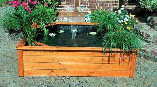 Terraza Estanque 150 x 150 cm 4 Maceta zonas para estanque Estanque: Amazon.es: Jardín