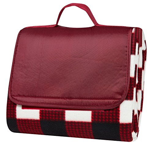 clara-clark-58-x-78-camping-beach-picnic-outdoor-blanket-x-large-red-plaid