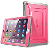 ipad mini retina display case - SUPCASE Beetle Defense Series for Apple iPad Mini with Retina Display (2nd Gen) Full-body Hybrid Protective Case with Built-in Screen Protector (Pink/Gray) - Dual Layer Design/Impact Resistant Bumper (Also Compatible with iPad Mini 1st Generation)