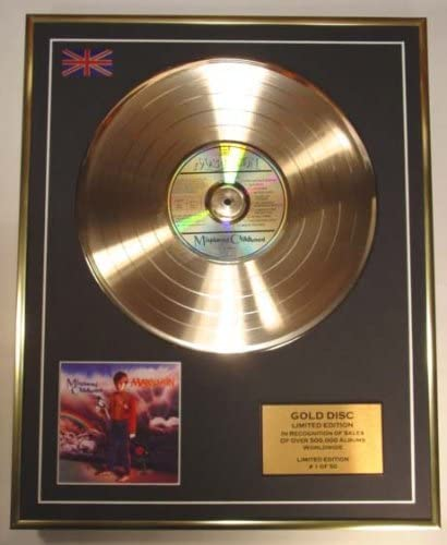 MARILLION//Cd Gold Disc Record Limited Edition//MISPLACED CHILDHOOD
