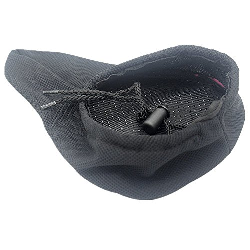 AISHEMI Children's Gift Bike Saddle Soft Pad Breathable Soft Comfortable Cycling Kids Bike Saddle Gel Seat Cushion Pad Cover 9''x6'' for Most Children Bicycle Tricycle Banlance Bike Saddle by AISHEMI (Image #3)