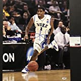 Autographed/Signed Kyrie Irving Duke Blue Devils 16x20 Basketball Photo PSA/DNA COA