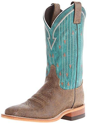 Ladies Cowboy Boot Fashion Leather J-Flex Insole Double Stit