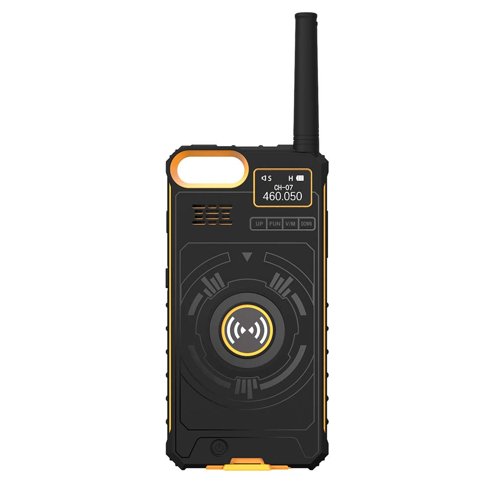 Docooler Outdoor Walkie Talkie 3-in-1 Multi-Function Intercom Power Bank Phone Case for iPhone 6 7 8 BOXCHIP