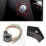 Engine Start Stop Button with Trim Cover For Hyundai 2011-2014 Sonata OEM Parts