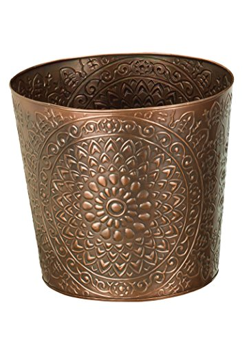 Regal Art & Gift Medallion Tapered Planter, 10""