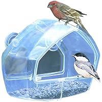 Perky-Pet Birdscapes Clear Window Feeder