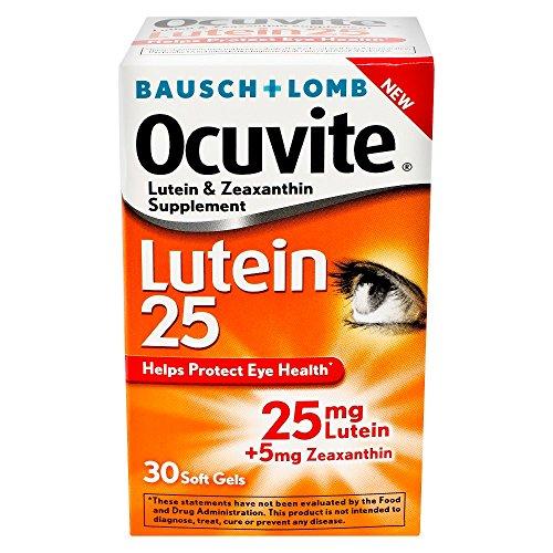 Bausch Ocuvite zeaxanthin supplements softgels