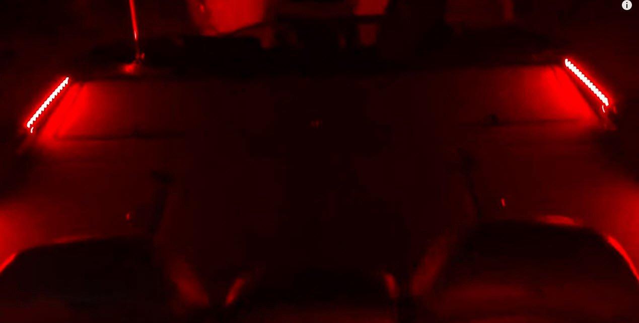 BLAST LED NOX Series - Boat LED Front Deck Light Kit, Interior LED light kit - (RED) by BLAST