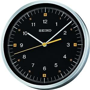 Seiko QXA566J - Reloj de pared (analógico), color negro
