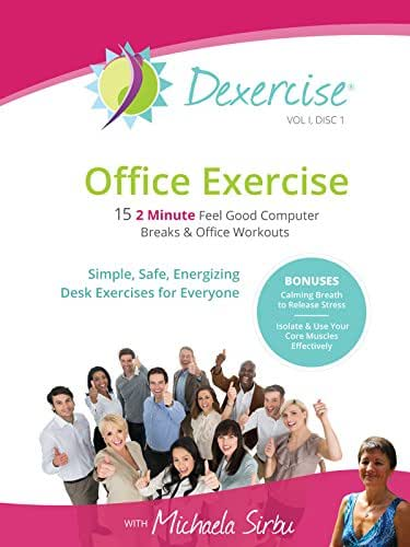 Office Exercise - FIFTEEN 2min Feel Good Desk Excercises and Office Workouts-Vol I, Disc 1