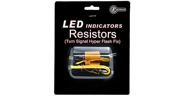 Led Bulb Load Resistors Flash Turn Signal Fix For Harley Davidson Electra Glide Classic Custom