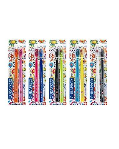 Ultra suave cepillo de dientes, 10 pinceles. CURAPROX Ultra Soft 5460, edición limitada