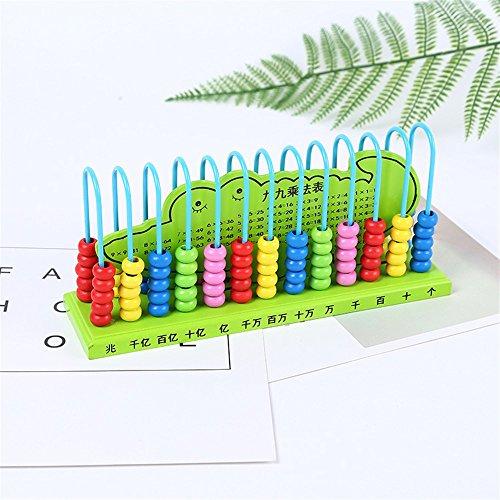 - Chusea Super Funny Favor Items Pupils Children's Abacus Ental Arithmetic Kindergarten 13 File 10 Beads Mathematics Calculation Rack(Random Color)