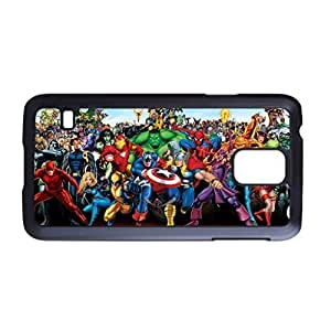 UponStyle Avenger Marvel Comic Print Black Hard Case For Samsung Galaxy S5 case