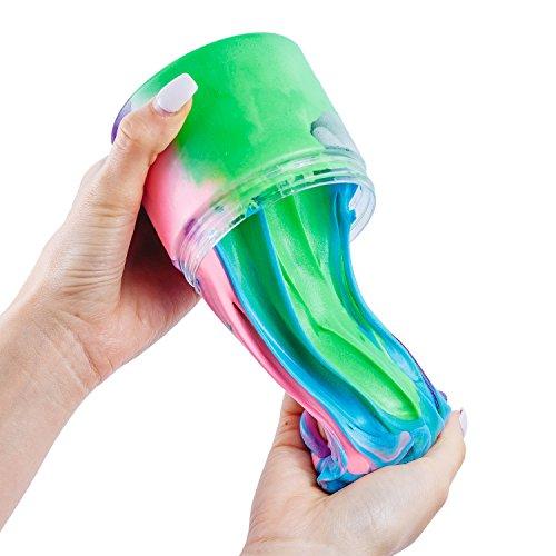 fa562836a2ab D&D Profy Unicorn's Rainbow Fluffy Slime w/ Foam Balls and Colorful ...