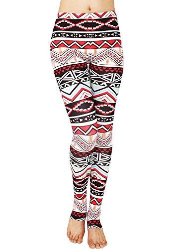 CinGr8 Women's Costume 3D Printed Leggings Foot Stirrups Stretchy Yoga (Walmart Canada Halloween Costumes)