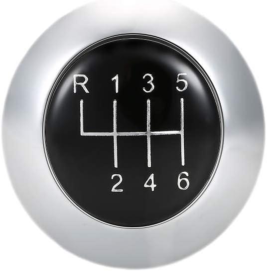Voupuoda Pommeau de Vitesse de Voiture Manuel /à 5//6 Vitesses pour Mazda s/érie 3//5//6 CX-7 MX-5 03-17