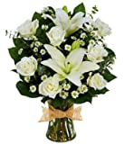 Expression Of Love - Same Day Sympathy Flowers Delivery - Condolence Flowers - Funeral Flower Arrangements - Sympathy Plants