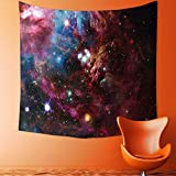 Printsonne Tapestry Wall Hanging Collection Space Nebula with Star Cluster in The Cosmos Universe Galaxy Solar Celestial Home Decorations for Bedroom Dorm