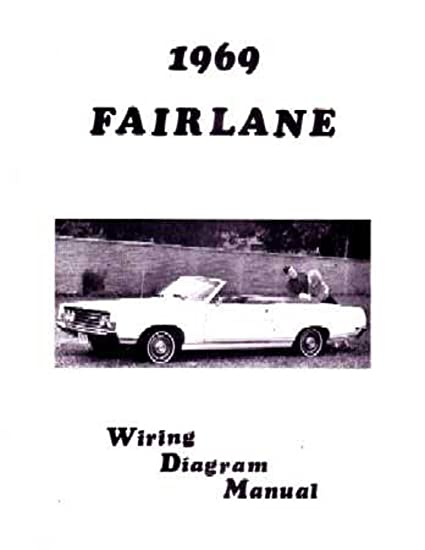 amazon com bishko automotive literature 1969 ford fairlane torino rh amazon com 71 Ford F100 Wiring Diagram Ford Alternator Wiring Diagram