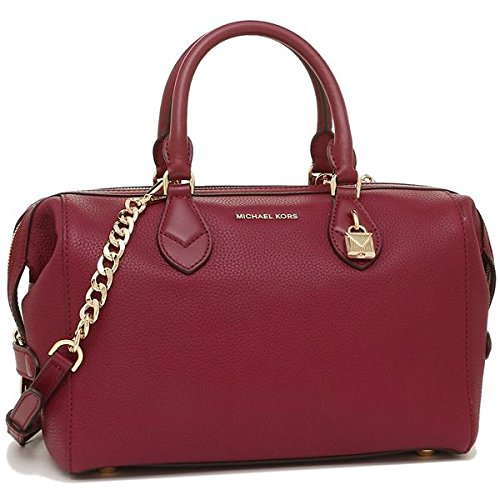 5417eeb62963 Amazon.com  Michael Kors Grayson Ladies Large Leather Satchel  30F7GGYS3L666  Watches