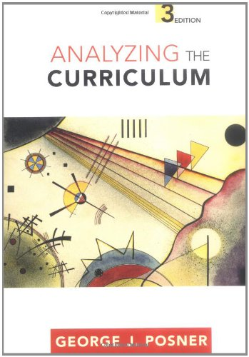 Analyzing The Curriculum by McGraw-Hill Education