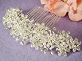 Freshwater Pearl & Swarovski Crystal Bridal Comb
