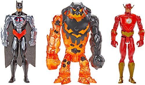 Batman Unlimited Molten Mayhem Batman & The Flash Vs. Clayface Figure 3-Pack