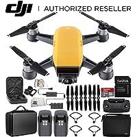 DJI Spark Portable Mini Drone Quadcopter Fly More Combo Portable Bag Shoulder Travel Case Bundle (Sunrise Yellow)