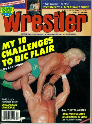 The Wrestler : Lex Luger's 10 Challenges - Lex Luger Wrestler Shopping Results