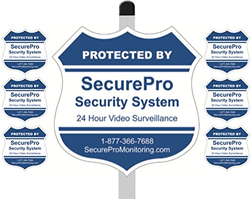 Protected SecurePro Security Stickers Included