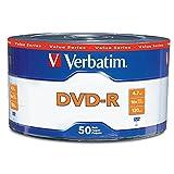 Verbatim 50 Pack DVD-R Spindle