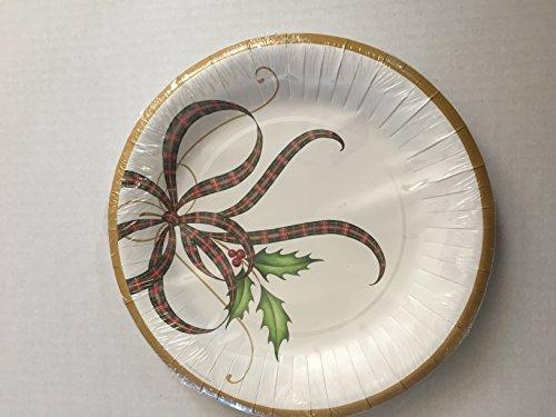Lenox Holiday Nouveau 8 Coated Dinner Plates 10.5